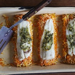 Baked Flounder With Parsnips And Carrots Recipe