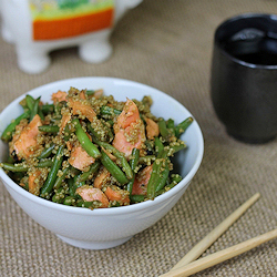 Asian Salmon Green Bean