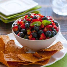 Blueberry  Strawberry Salsa