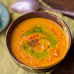 Caramelized Onion and Carrot Soup