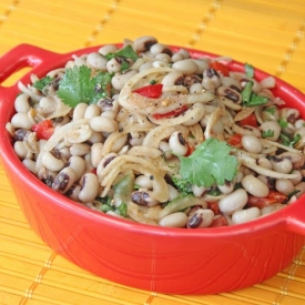 Black Eyed Bean Salad