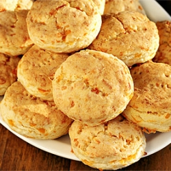 Double-Cheddar Holiday Biscuits