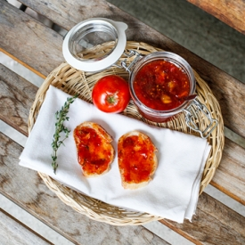 Heirloom Tomato  Thyme Jam