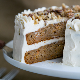The Healthier Carrot Cake