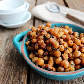 Baked Honey Chick Peas