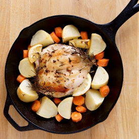 Cast Iron Rosemary Chicken