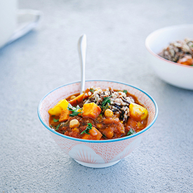 Moroccan-Style Veggie Stew