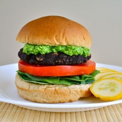 Portobello Bean Burger
