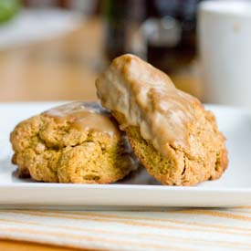 Pumpkin Spice Latte Mini Scones