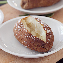 Salted Baked Potato