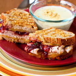 Southwest Thanksgiving Panini